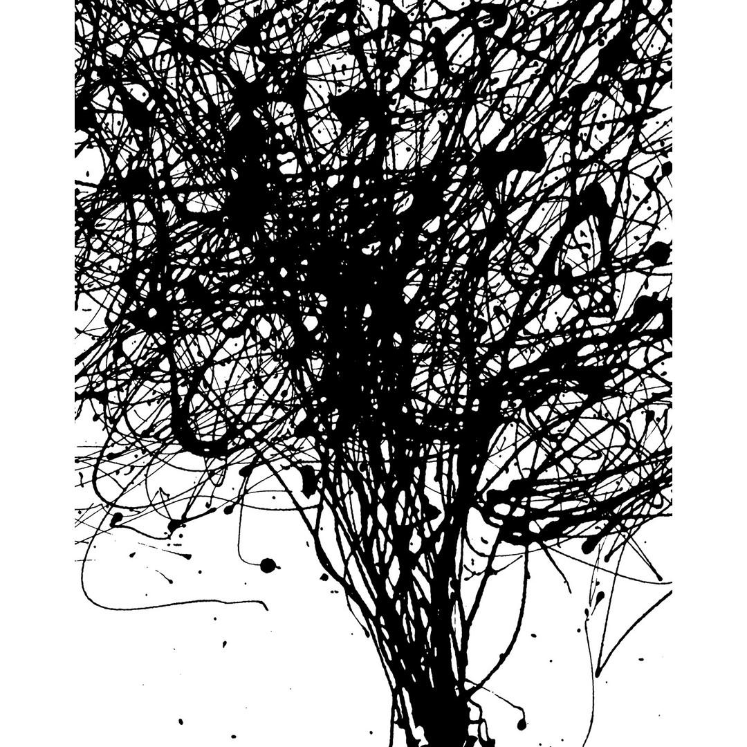 Sonderanfertigung Exklusive Vliestapete Curls - KOV4-758-ONE