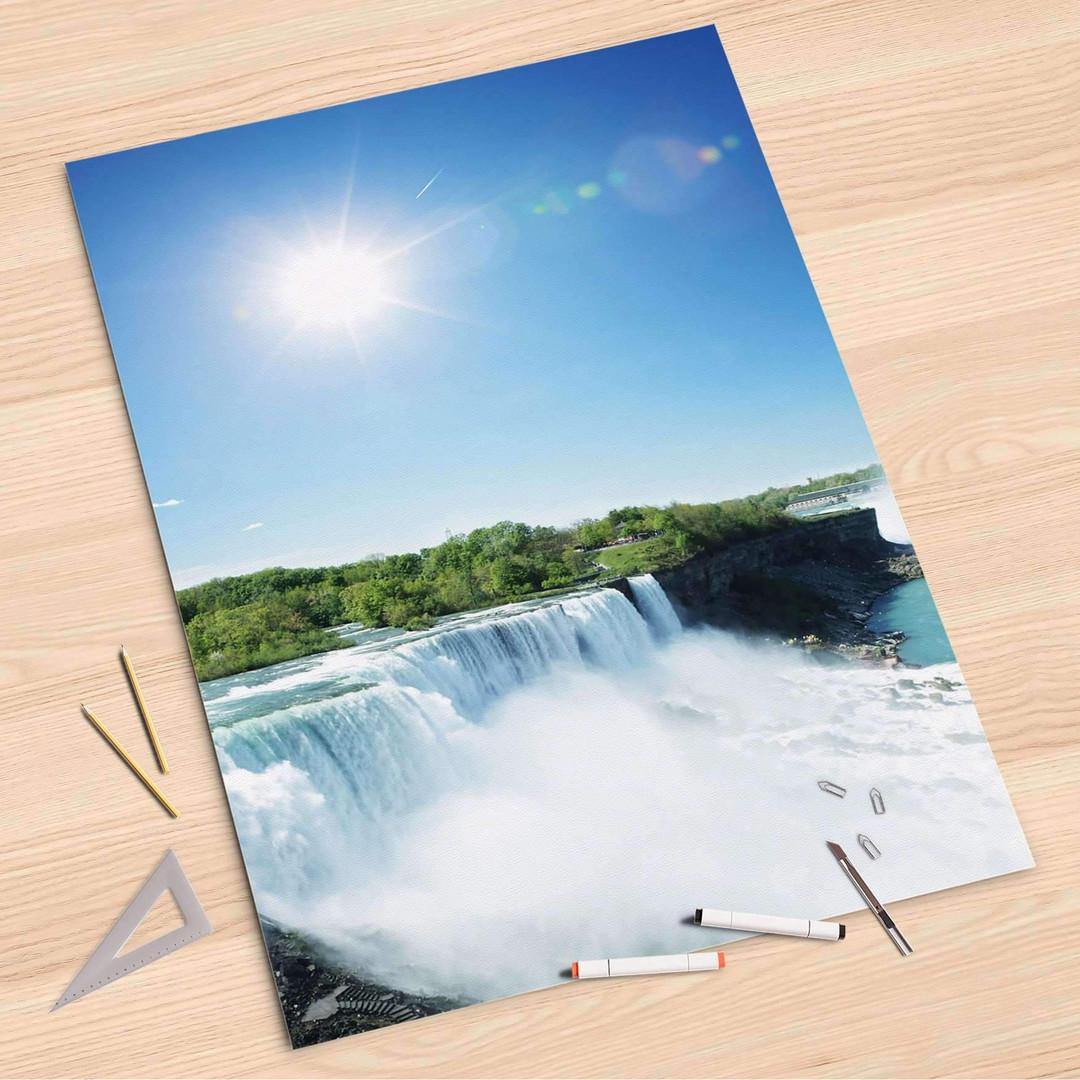 Folienbogen (80x120cm) - Niagara Falls - CR107381