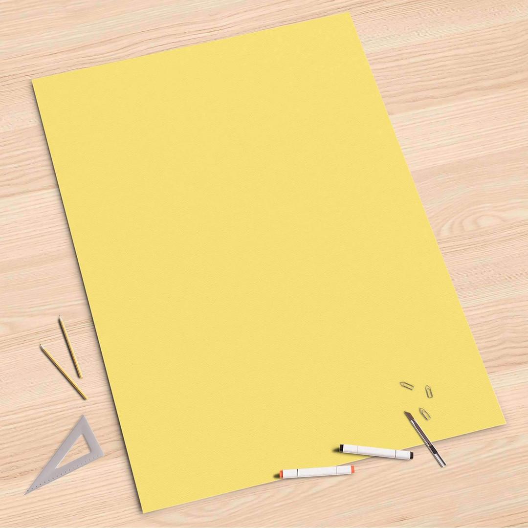 Folienbogen (80x120cm) - Gelb Light - CR107330