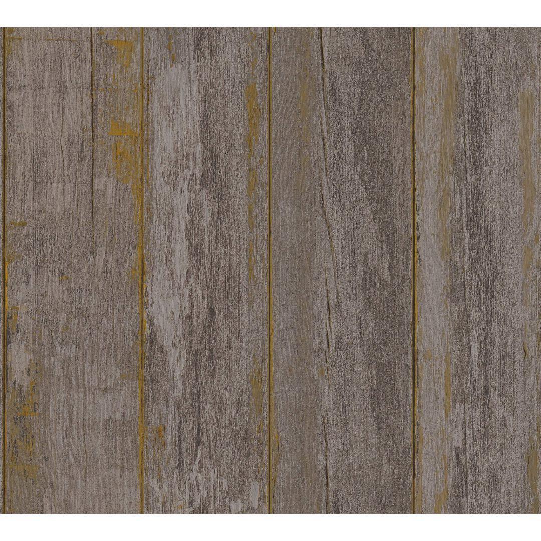 A.S. Création Vliestapete il Decoro Tapete in Vintage Holz Optik braun, schwarz - WA268385