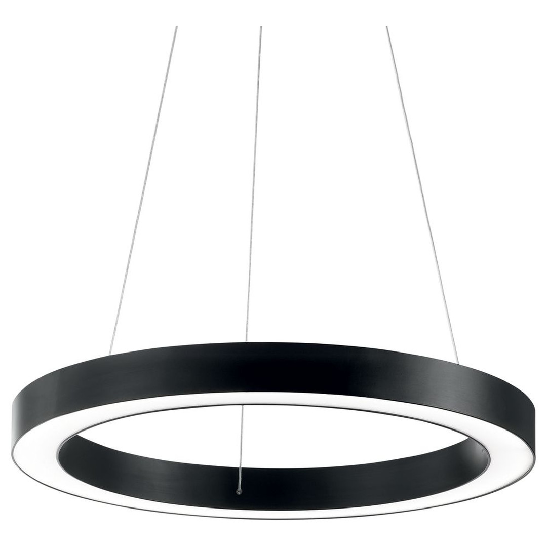 LED Pendelleuchte Oracle Warmweiss in Schwarz 500mm - CL120155