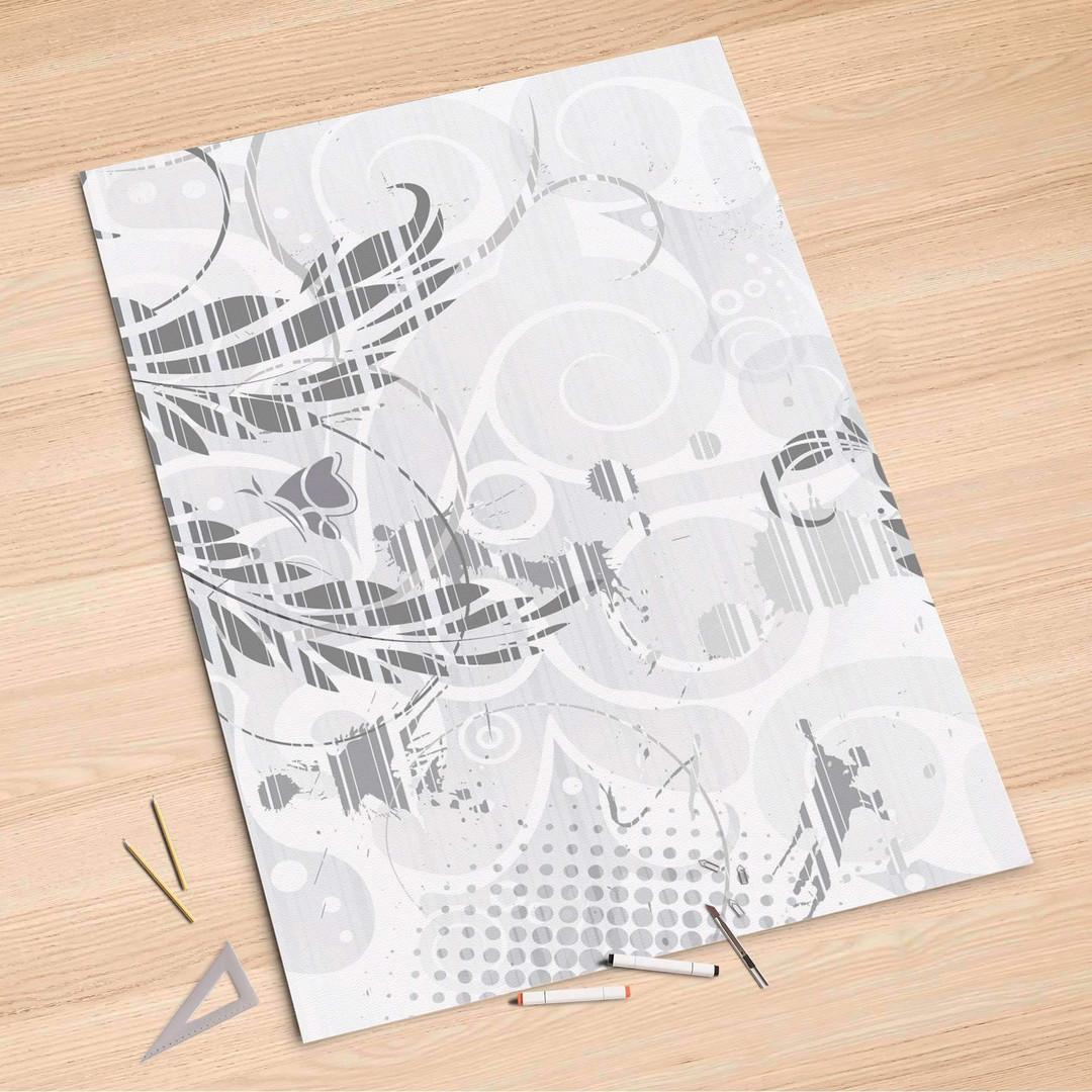 Folienbogen (100x150cm) - Florals Plain 2 - CR106163