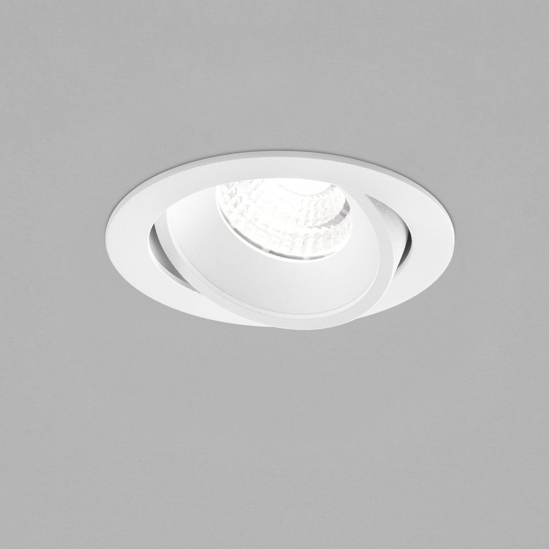 LED Deckeneinbaustrahler Sid in Weiss-matt 10W 890lm IP65 - CL120241
