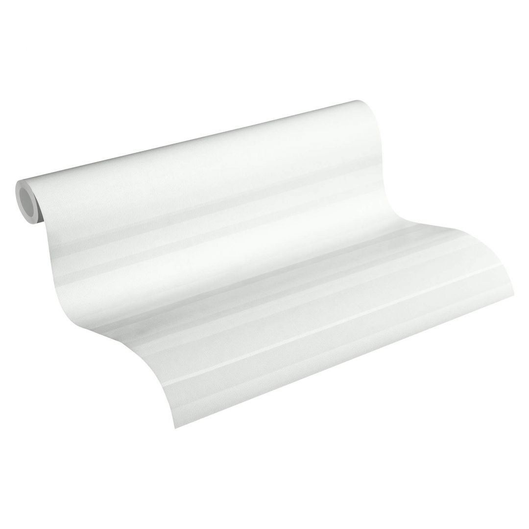 Esprit Vliestapete Eco Wallpaper Tapete quer gestreift grau - WA252306