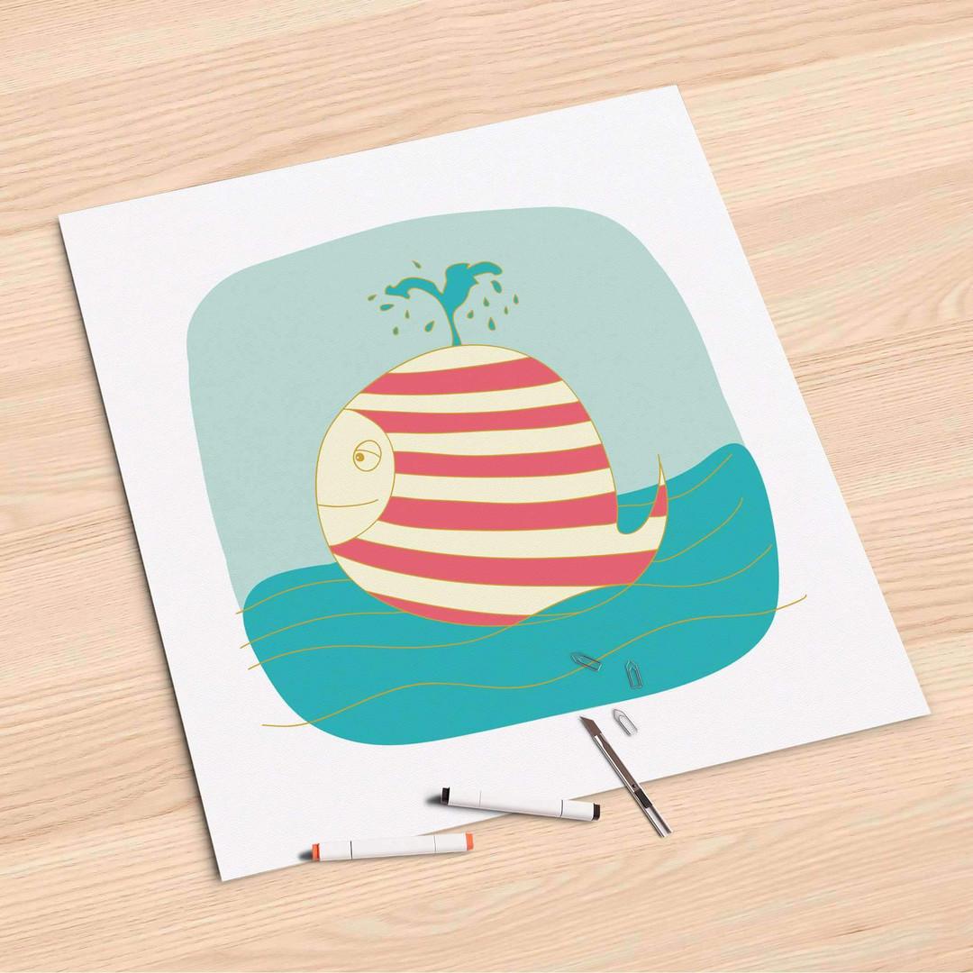 Folienbogen (60x60cm) - Funny Wale - CR107083