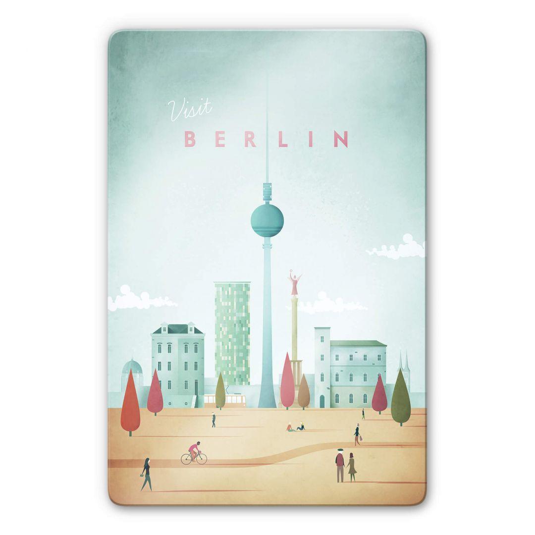 Glasbild Rivers - Berlin - WA252977