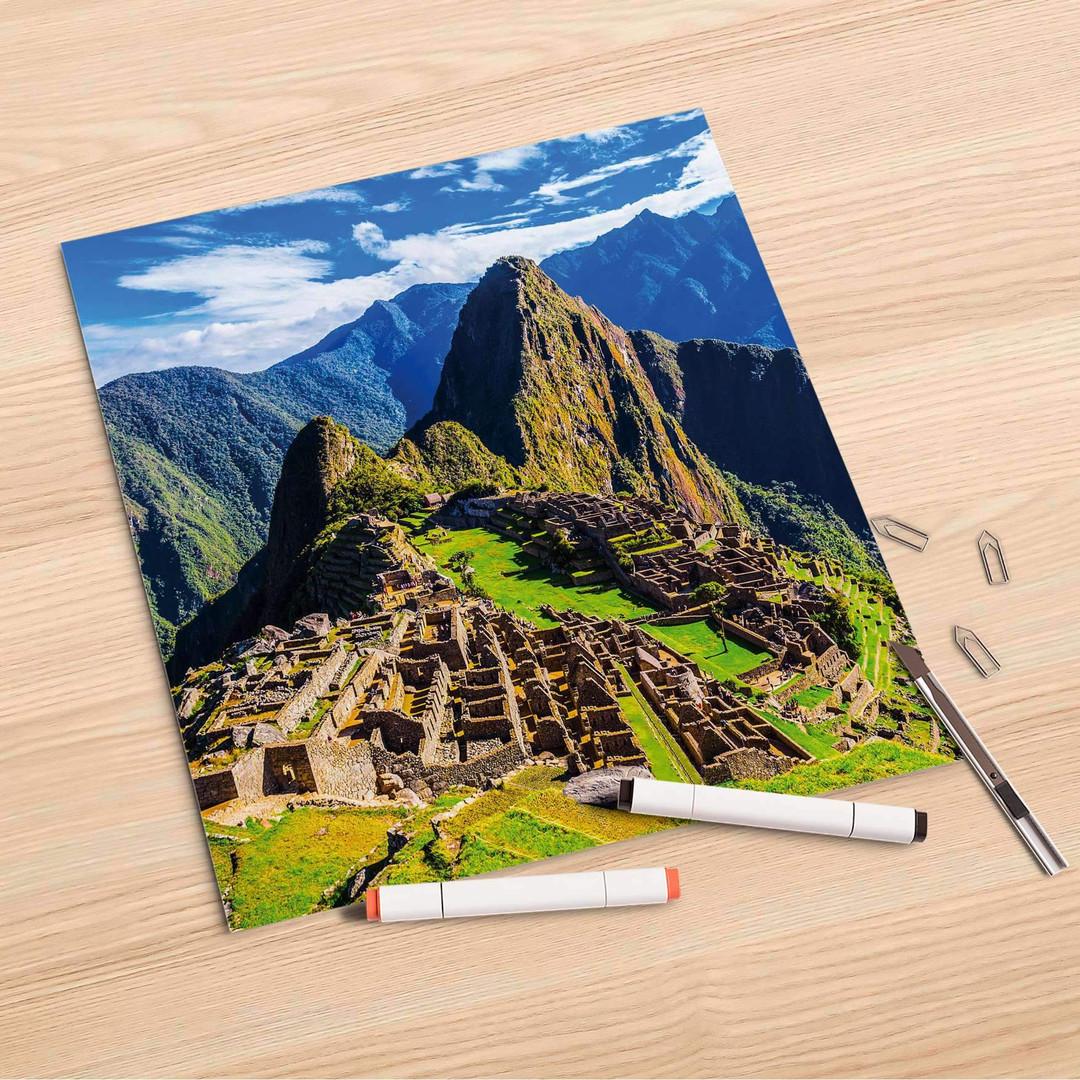 Folienbogen (30x30cm) - Machu Picchu - CR106874