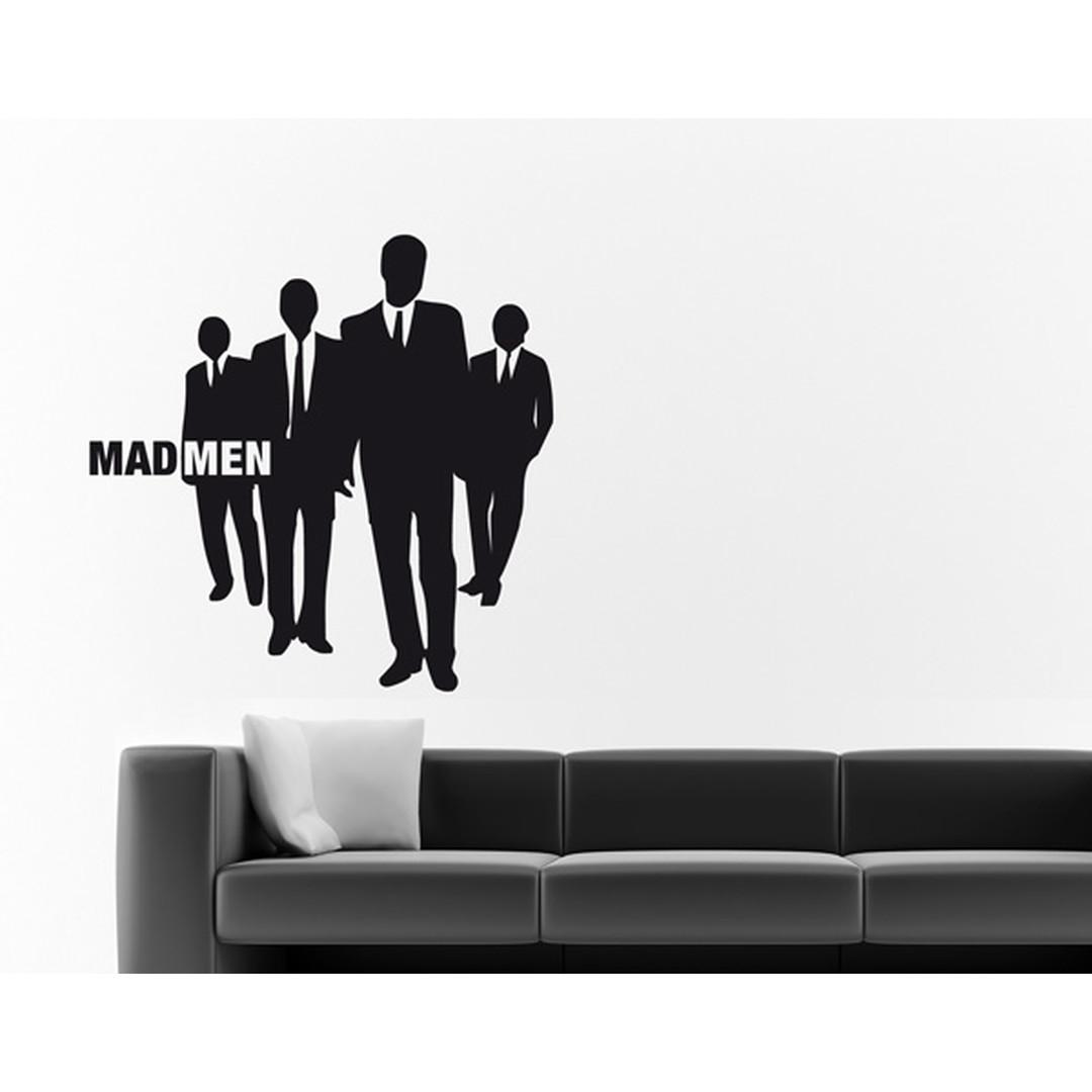 Wandtattoo Mad Men walking - TD16342