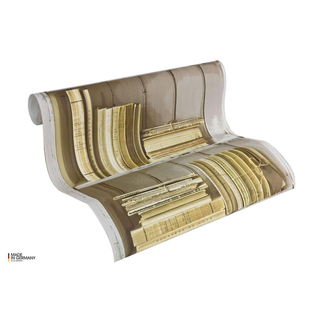 A.S. Création Holzoptik Tapete Authentic Walls beige, braun, creme - WA100815