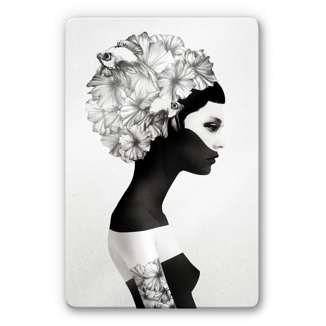 Glasbild Ireland - Marianna - Hibiskusblüten - WA252877