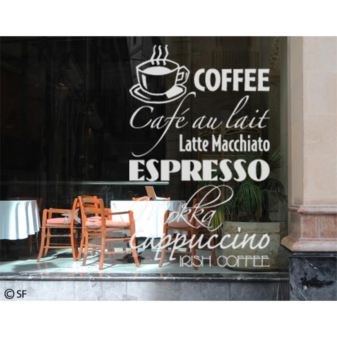 Glasdekor Coffee - CG10261