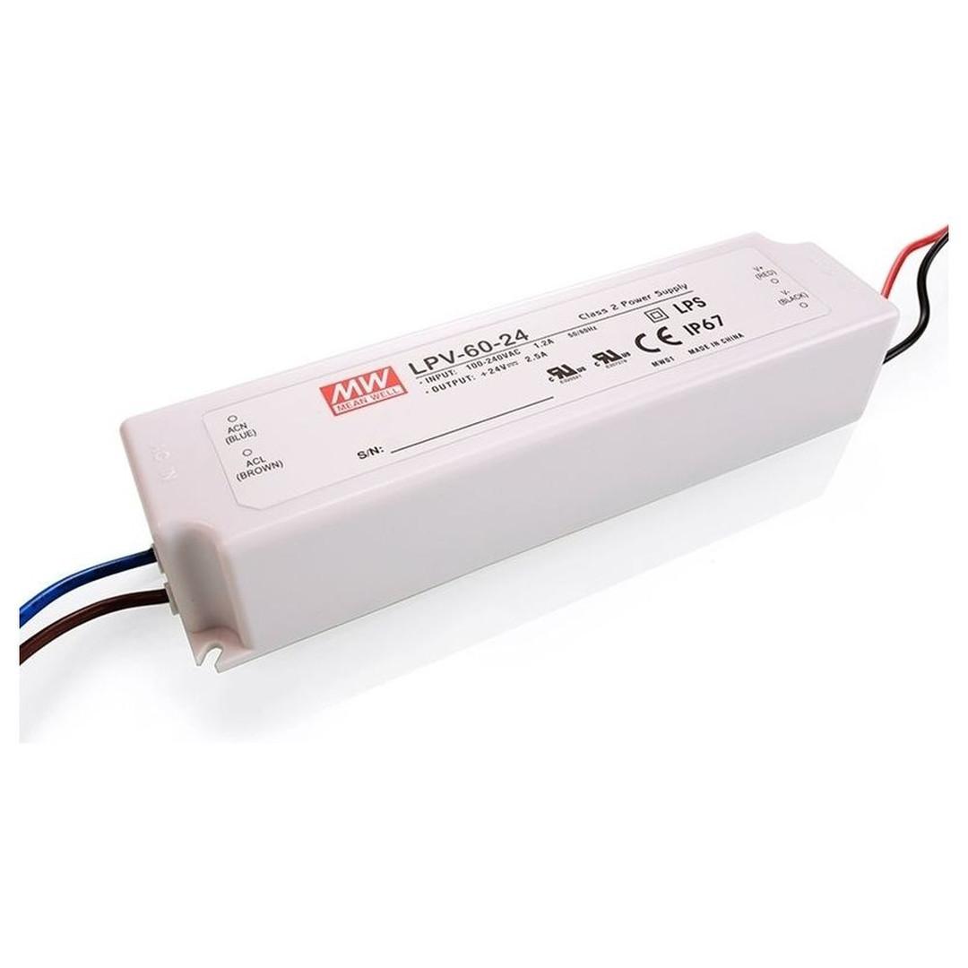LED Schaltnetzteil Meanwell 24V 60W IP67 - CL102012