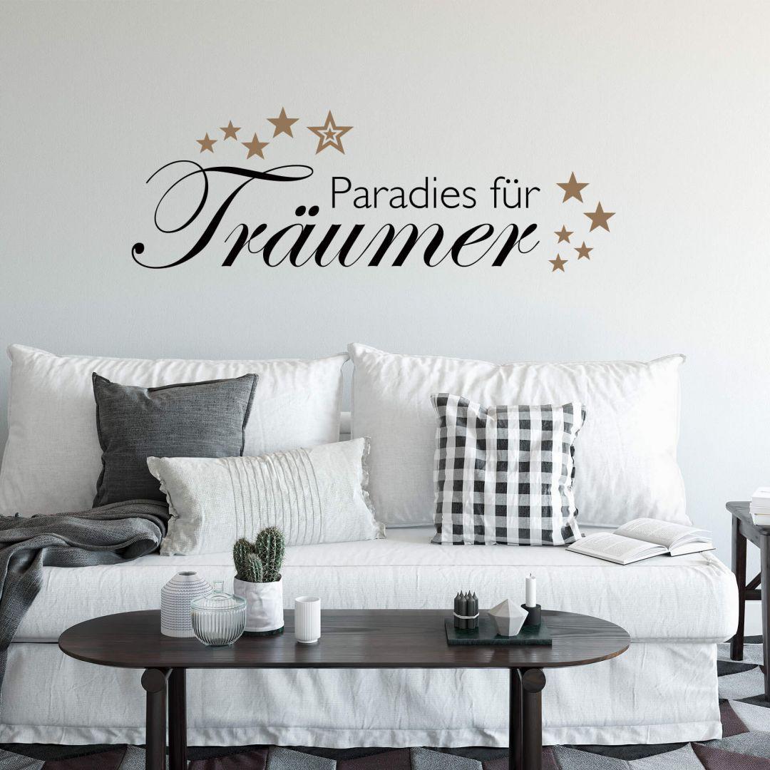 Wandtattoo Paradies für Träumer 2 (2-farbig) - WA216988