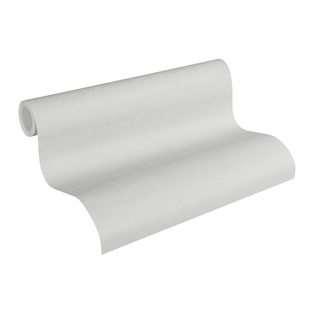 Vliestapete Premium Wall Tapete Unitapete grau, metallic - WA251115