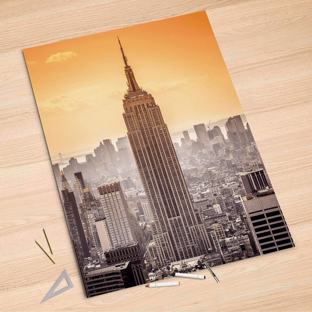Folienbogen (100x150cm) - Empire State Building - CR106151