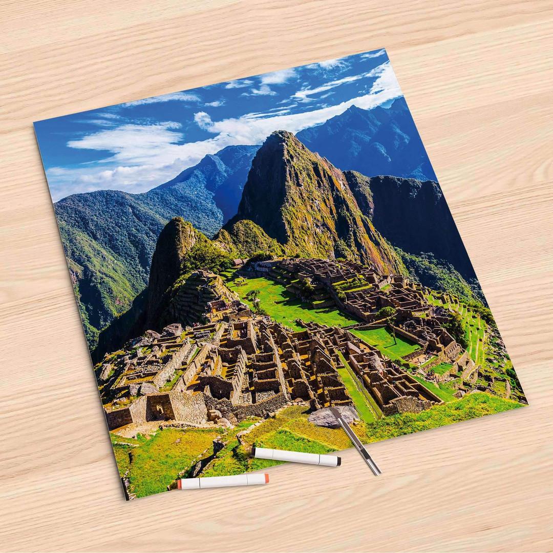 Folienbogen (60x60cm) - Machu Picchu - CR107124