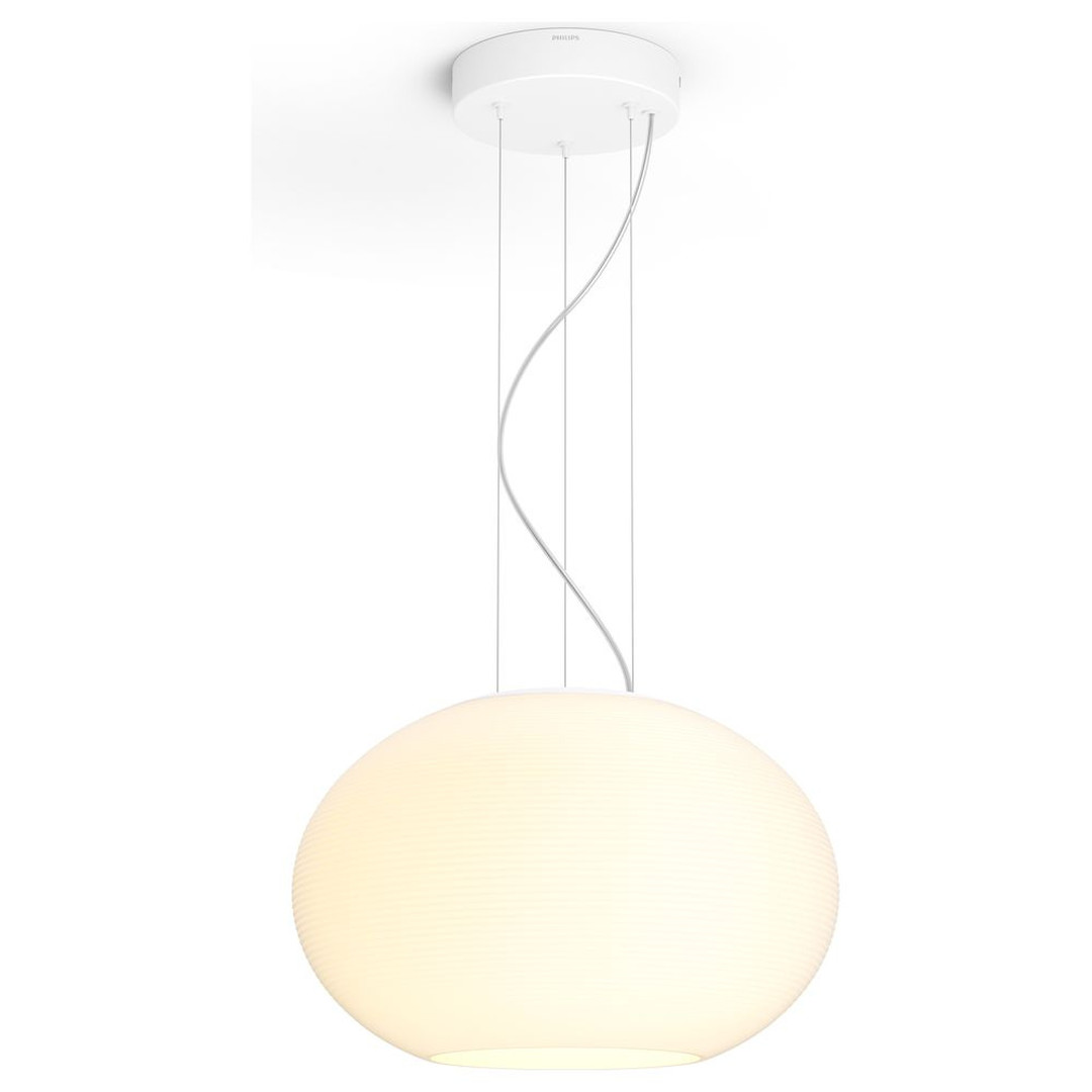 Philips Hue Bluetooth White & Color Ambiance Flourish - Pendelleuchte Weiss - CL119852