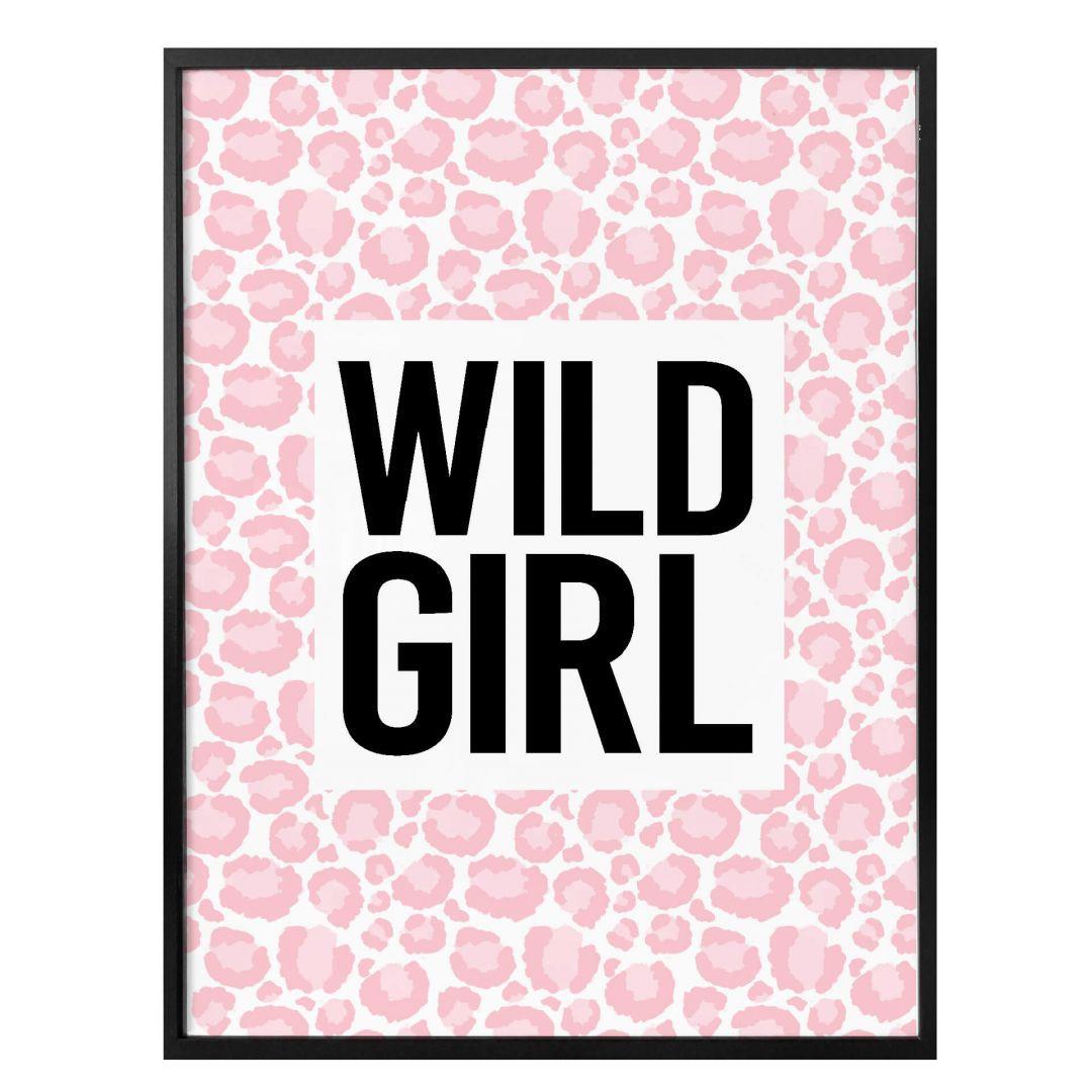 Poster Leopard - Wild Girl - WA258500