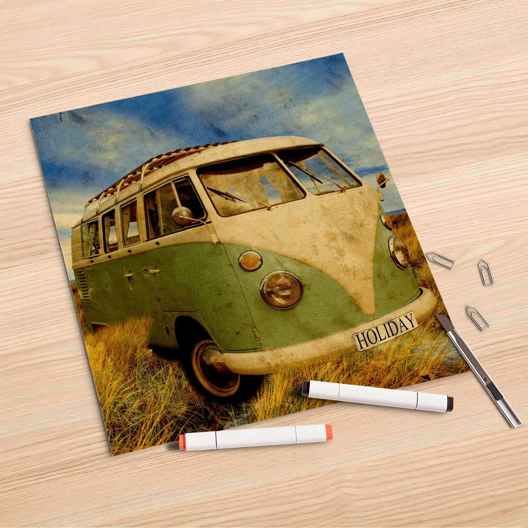 Folienbogen (30x30cm) - Holiday Feeling - CR106860
