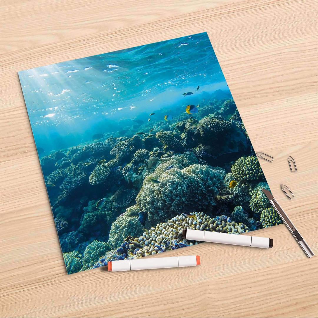 Folienbogen (30x30cm) - Underwater World - CR106978