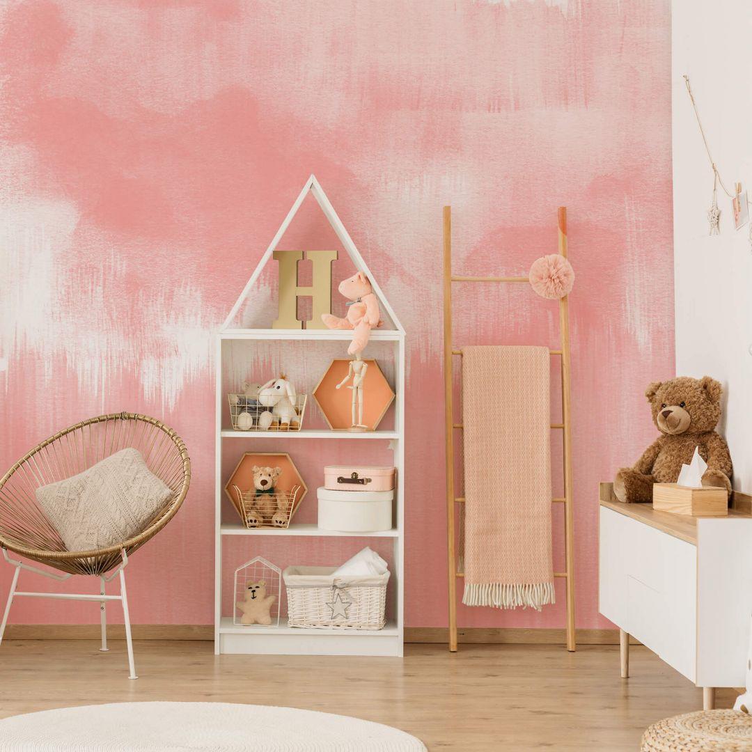 Fototapete Nouveauprints - Watercolour Brush Strokes (pink) - WA288830