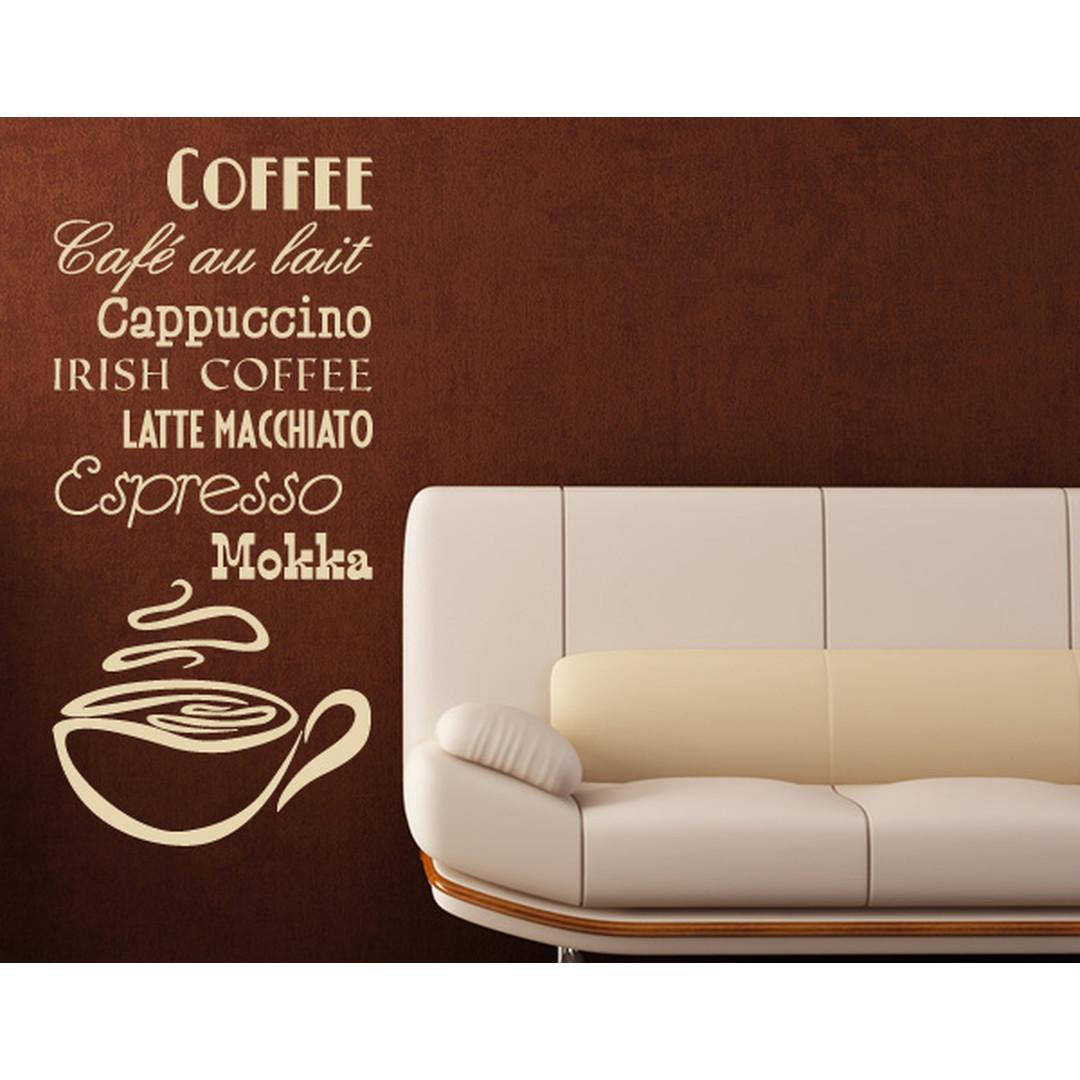 Wandtattoo Coffee - TD16042