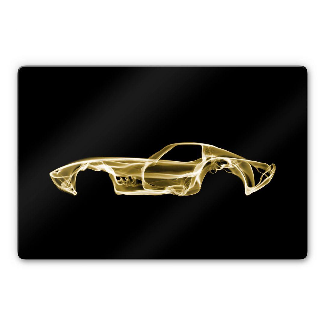 Glasbild Mielu - Yellow car - WA288901