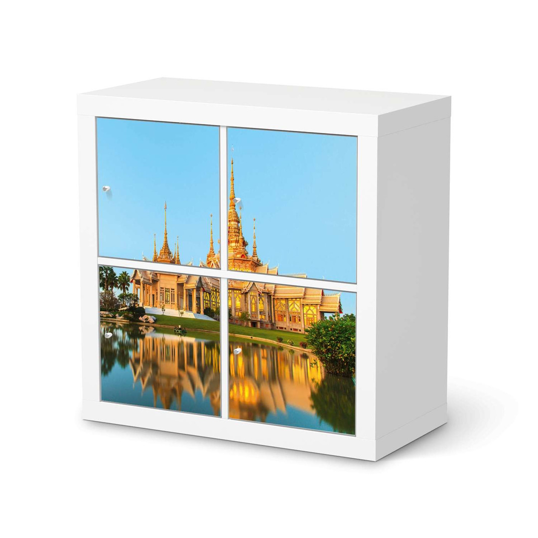 Möbelfolie IKEA Expedit Regal 4 Türen - Thailand Temple - CR114596