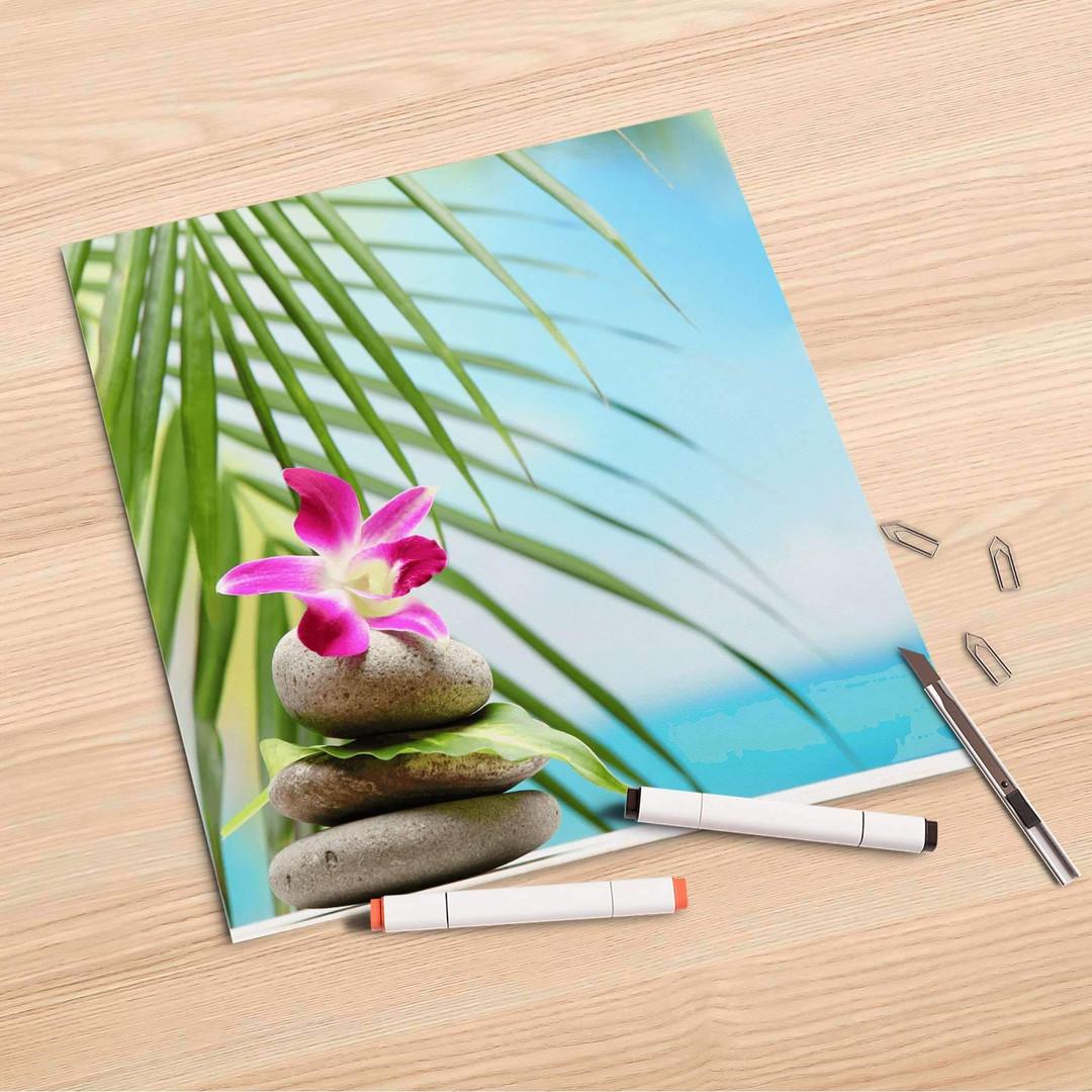 Folienbogen (30x30cm) - Lotus Flower - CR106873