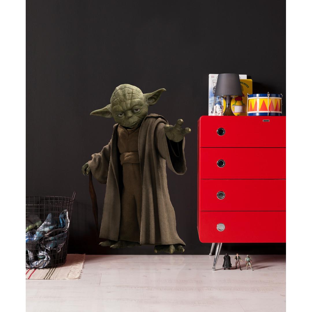 Wandsticker Star Wars Yoda - KO14721h