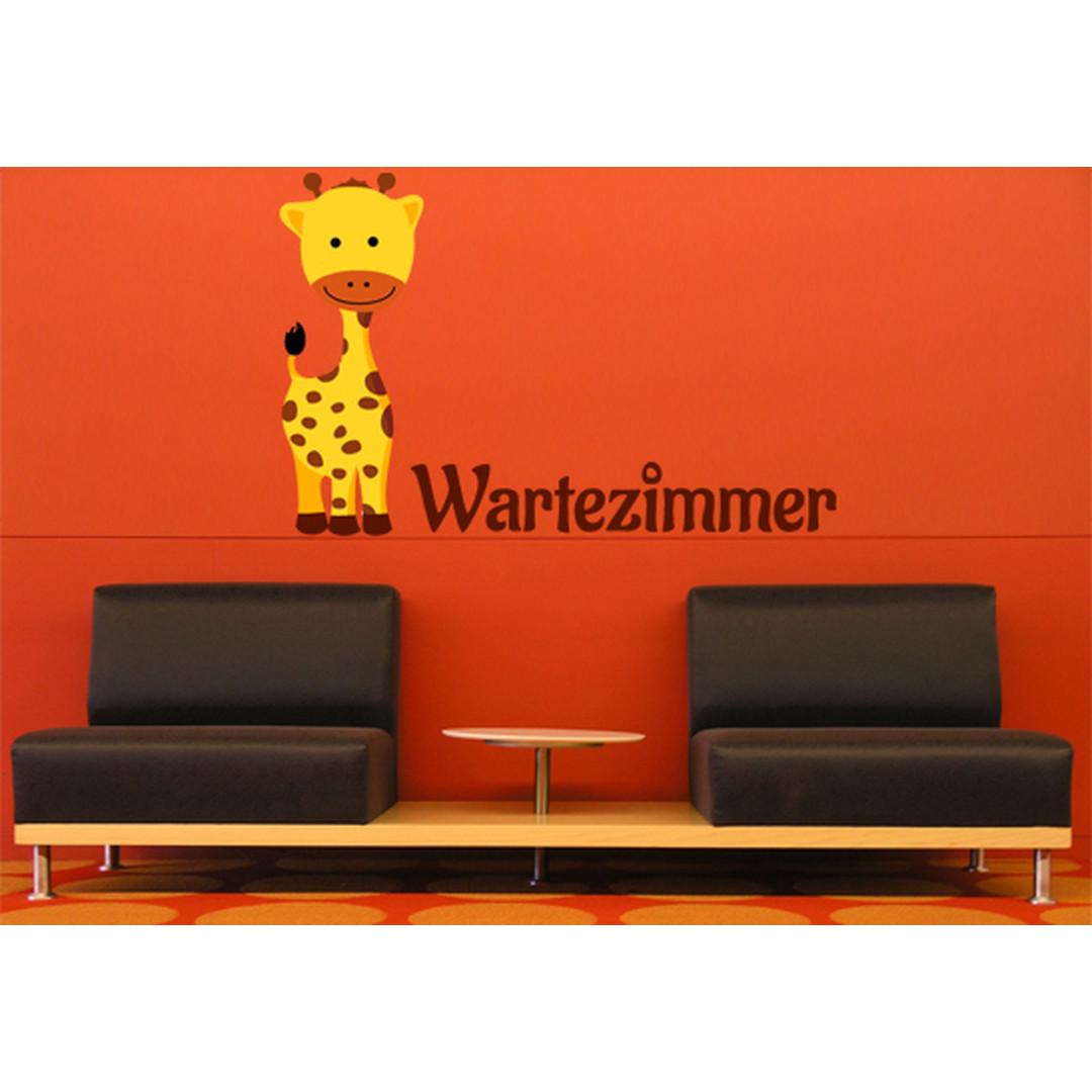 Wandsticker Wartezimmer Babygiraffe - CG10083