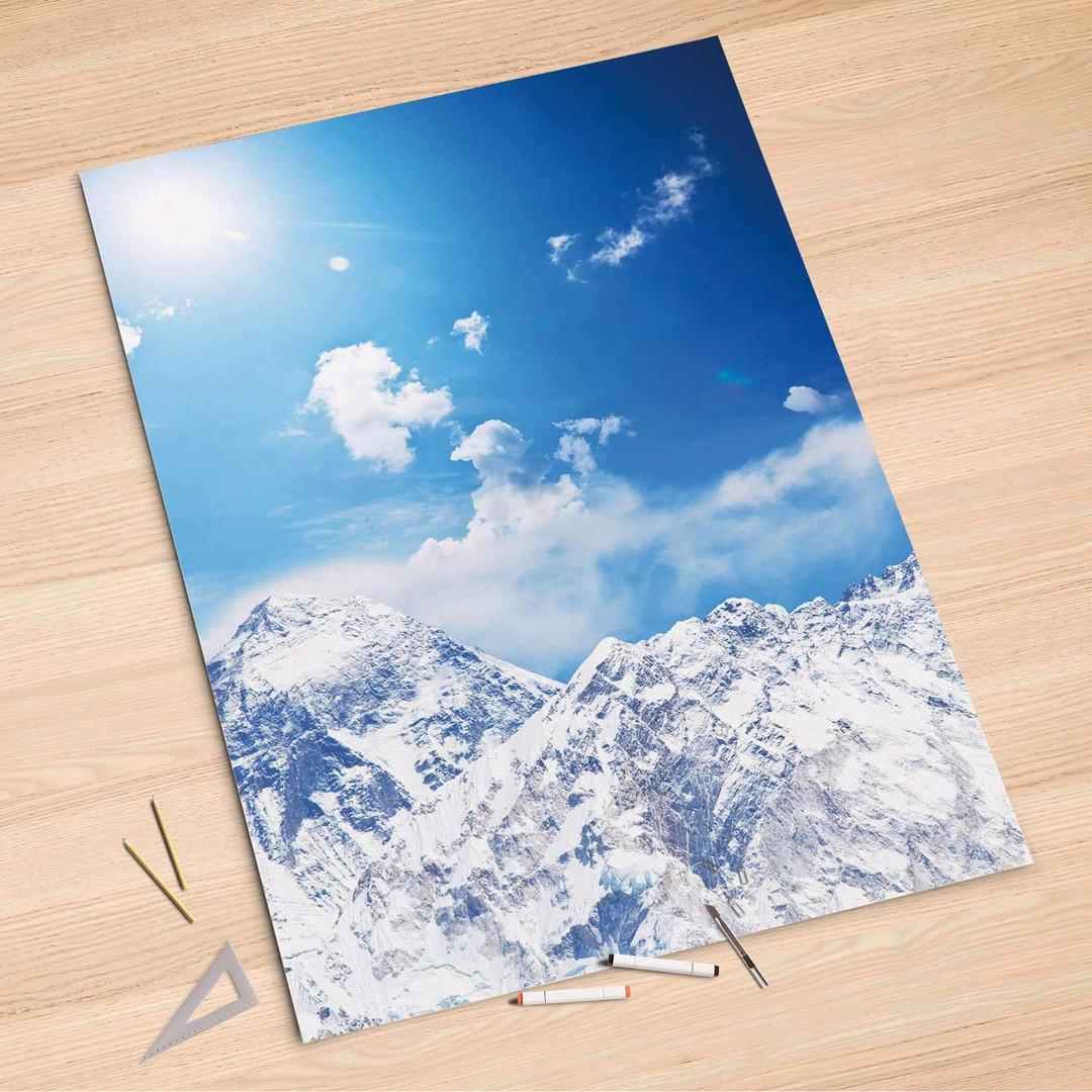 Folienbogen (100x150cm) - Everest - CR106155
