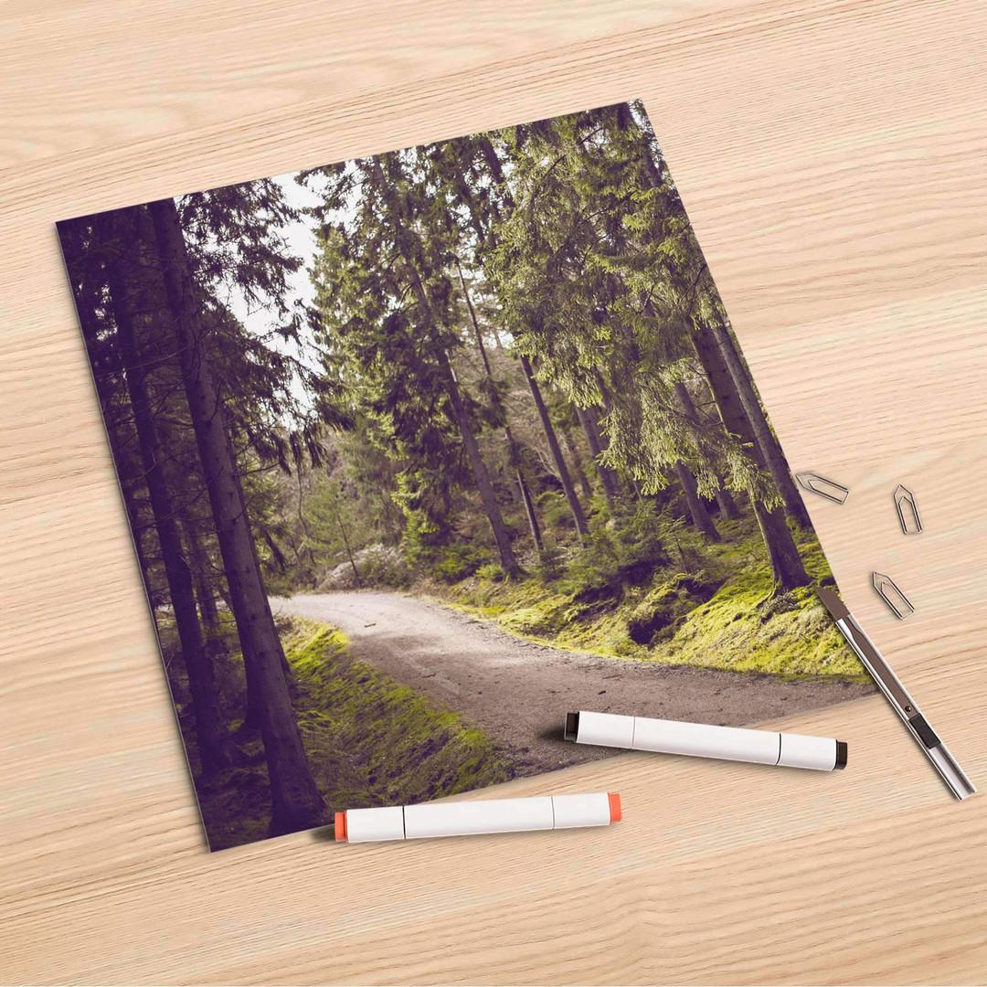 Folienbogen (30x30cm) - Forest Walk - CR106829