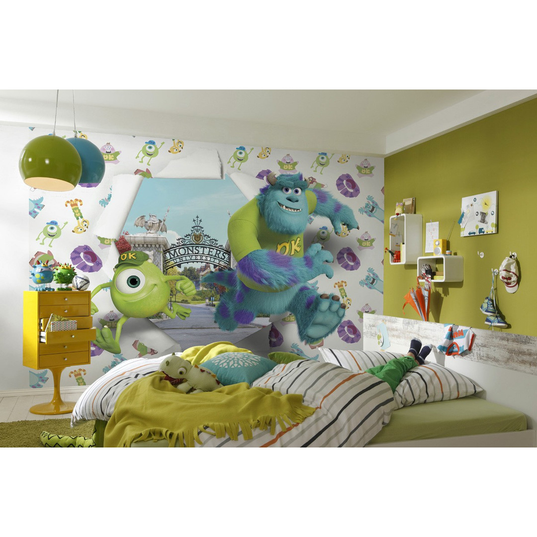 Fototapete Monsters University Wallbreaker - KO8-471
