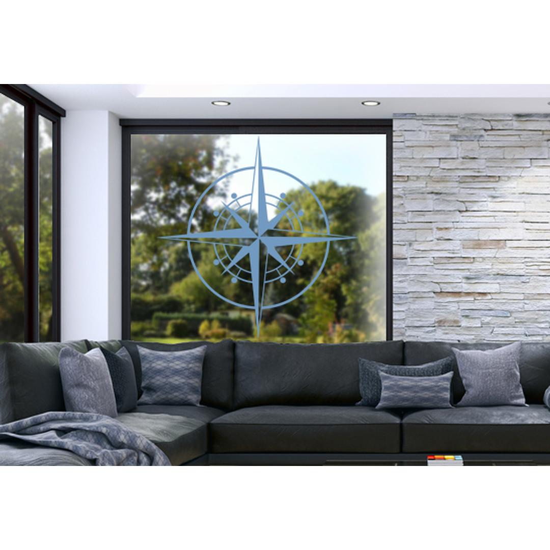 Glasdekor Windrose - CG10448