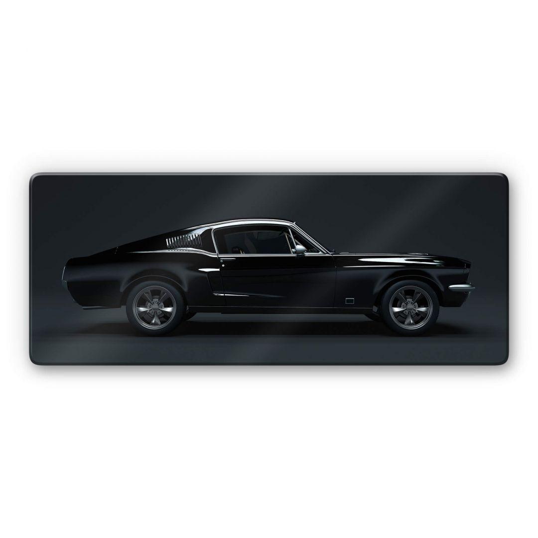 Glasbild - Muscle Car - Panorama - WA288853