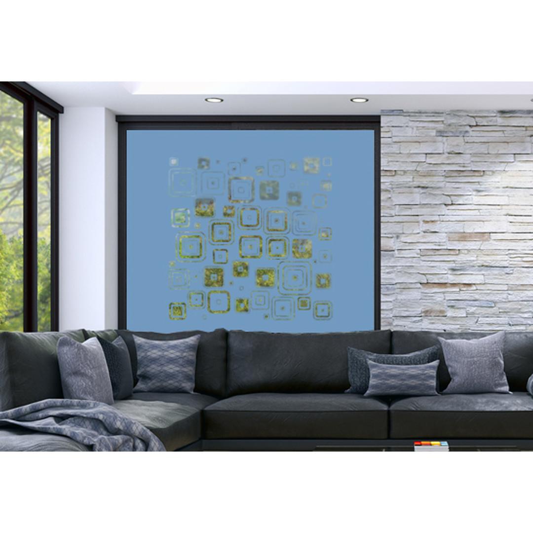 Glasdekor Retro Muster - CG10281