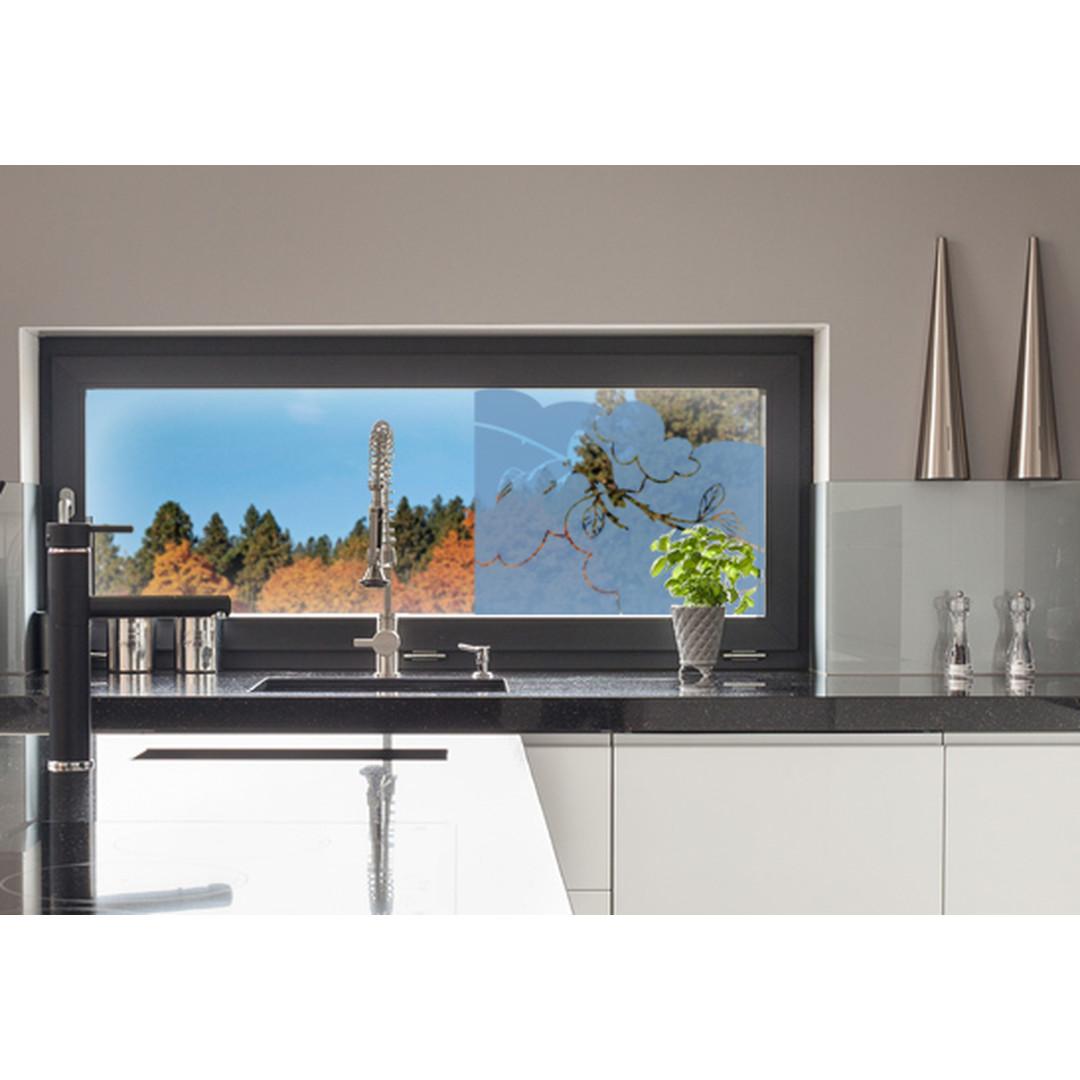 Glasdekor Amsel Zweig - CG10474
