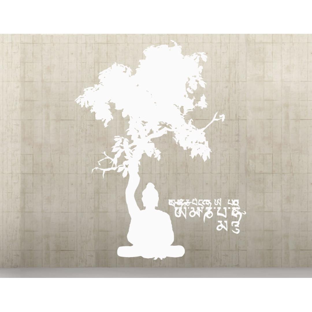 Wandtattoo Meditating Buddha - TD16319