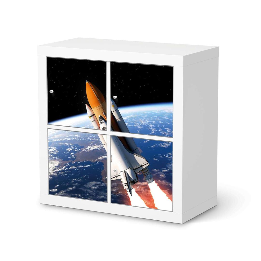 Möbelfolie IKEA Expedit Regal 4 Türen - Space Traveller - CR114586
