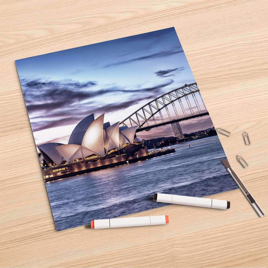 Folienbogen (30x30cm) - Sydney - CR106958