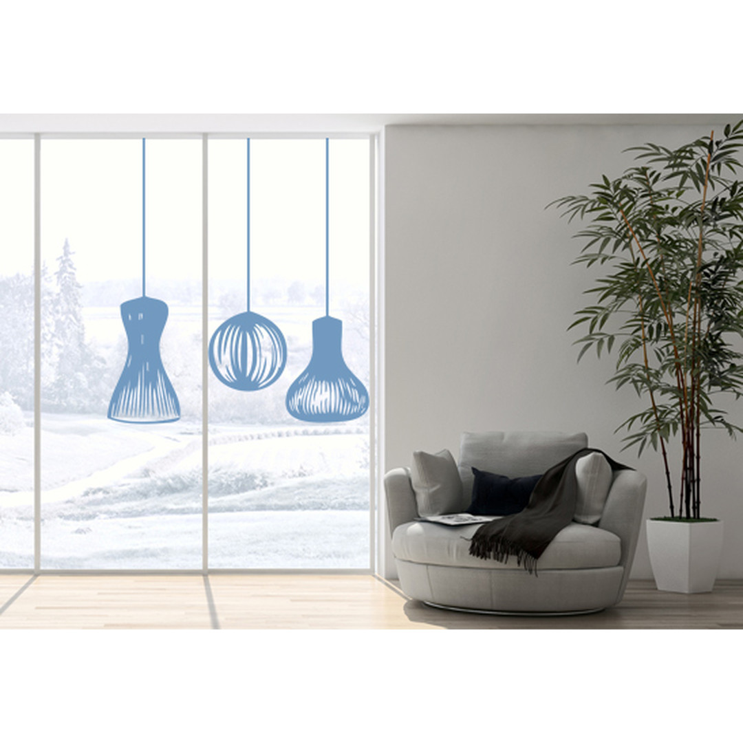 Glasdekor Lampionschirme - CG10391