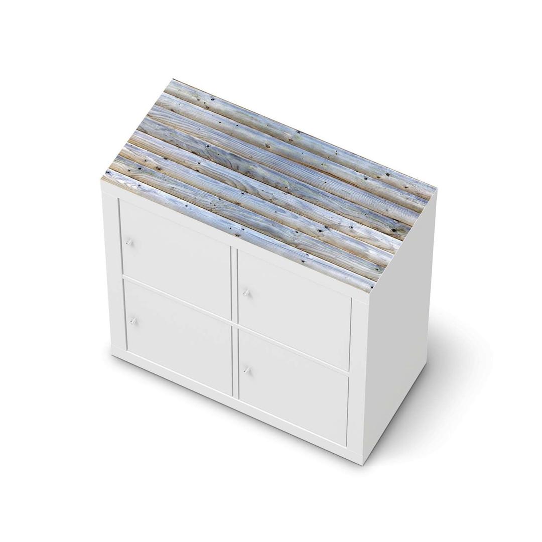 Möbelfolie IKEA Expedit Regal oben - Greyhound - CR114637