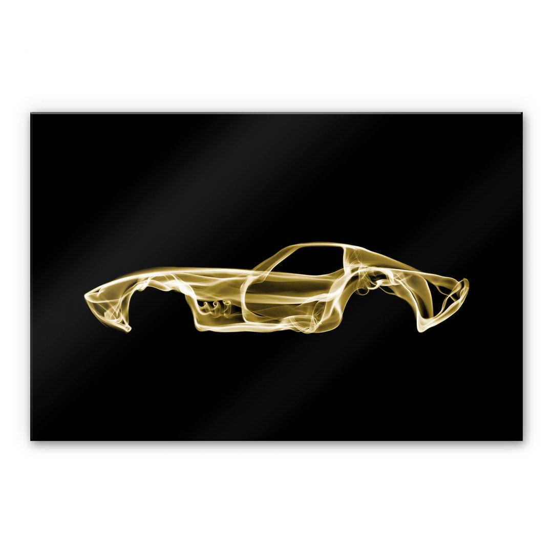 Acrylglasbild Mielu - Yellow car - WA288466