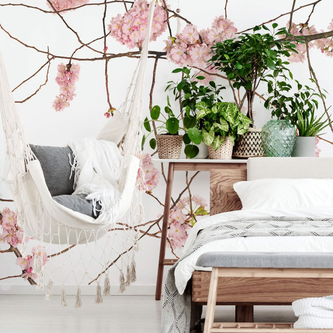 Fototapete Kadam - Japanische Kirschblüte - 192x260cm - WA271142