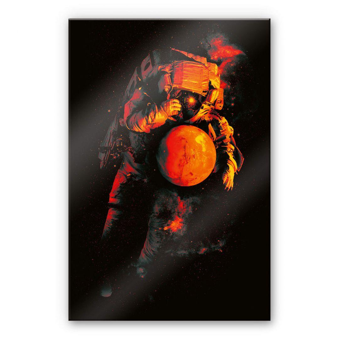 Acrylglasbild Nicebleed - It's a small world after Mars - WA288479