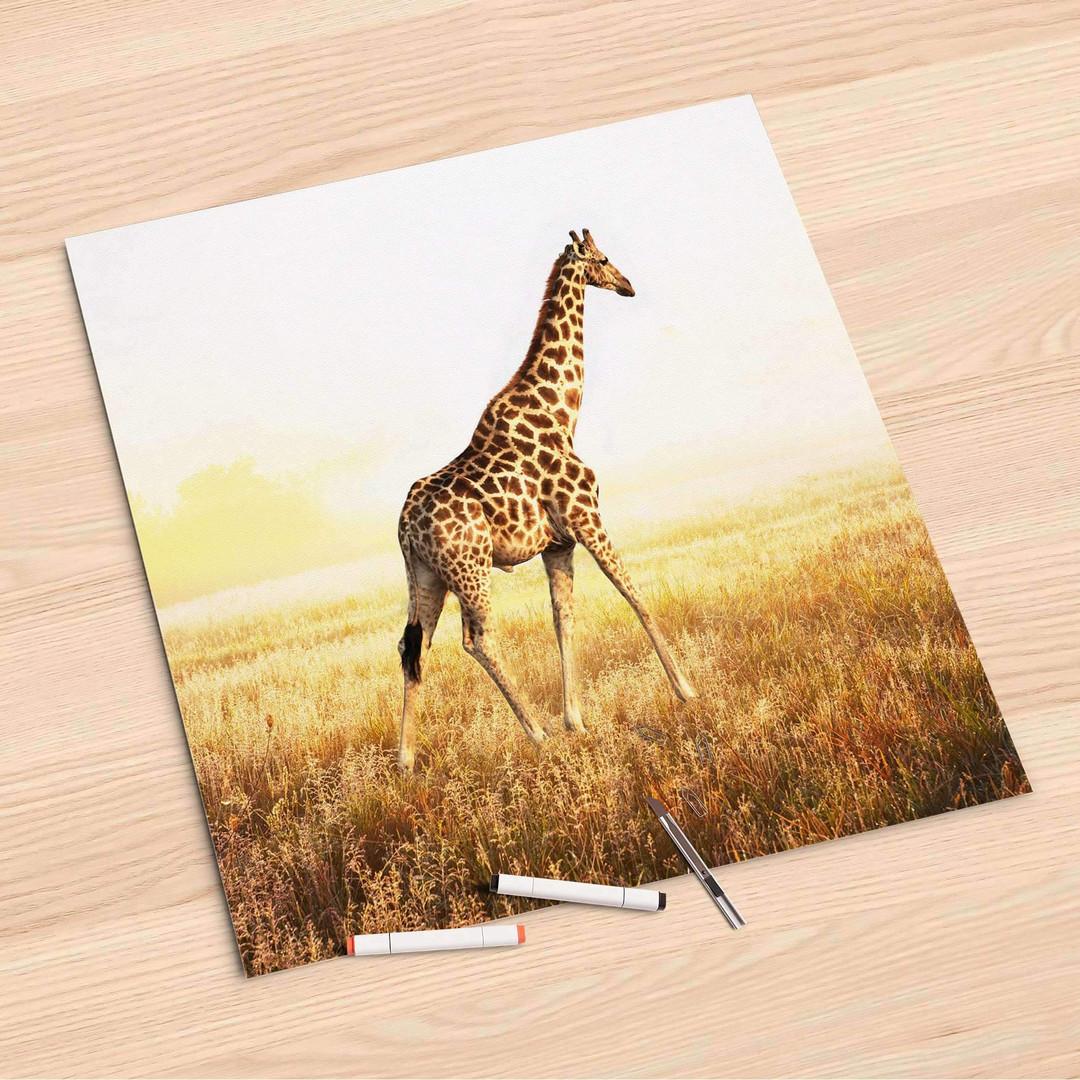 Folienbogen (60x60cm) - Savanna Giraffe - CR107178