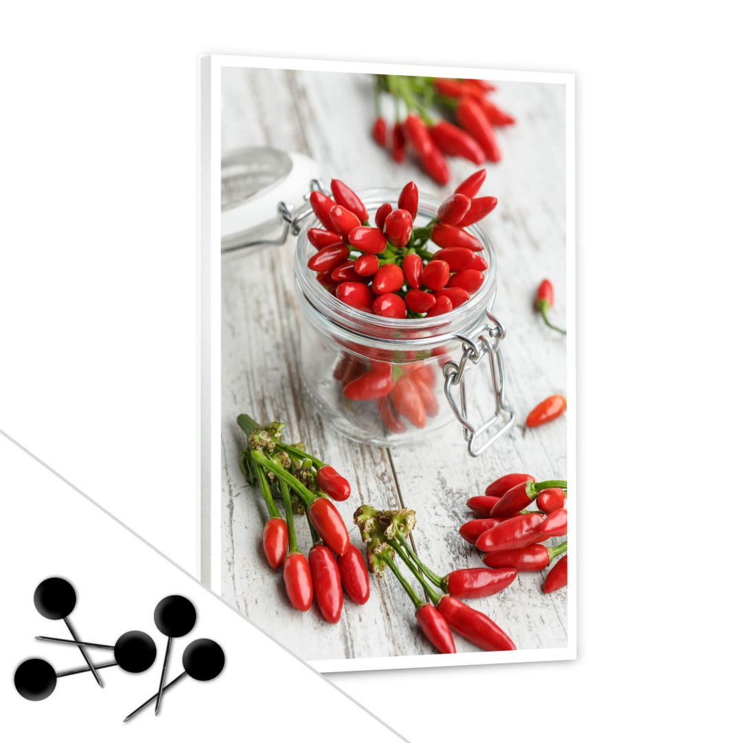 Pinnwand Hot Chili inkl. 5 Pinnadeln - WA256642
