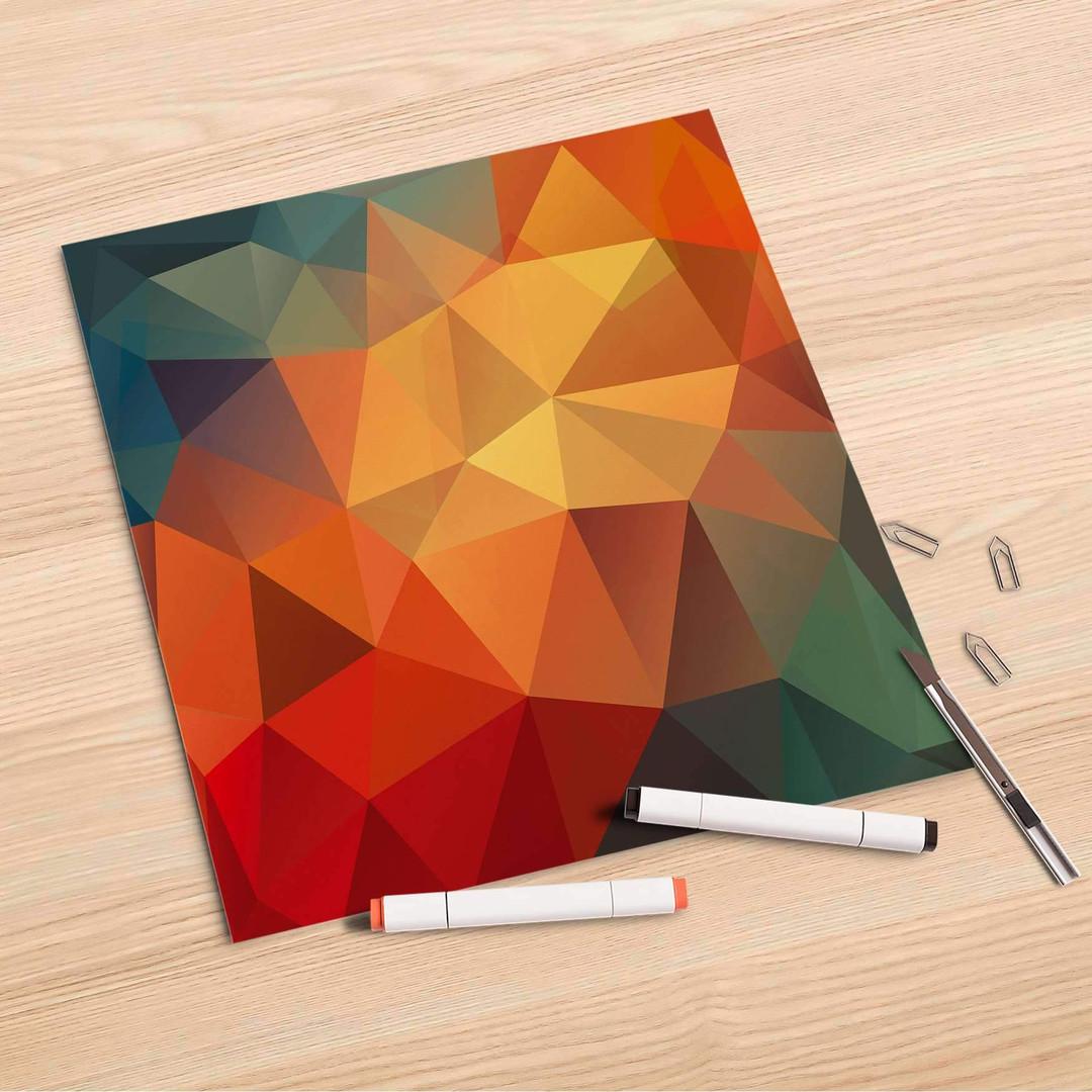 Folienbogen (30x30cm) - Polygon - CR106913
