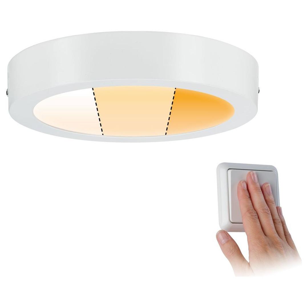 LED Deckenleuchte Carpo in Weiss-matt 13W 1050lm rund - CL120347